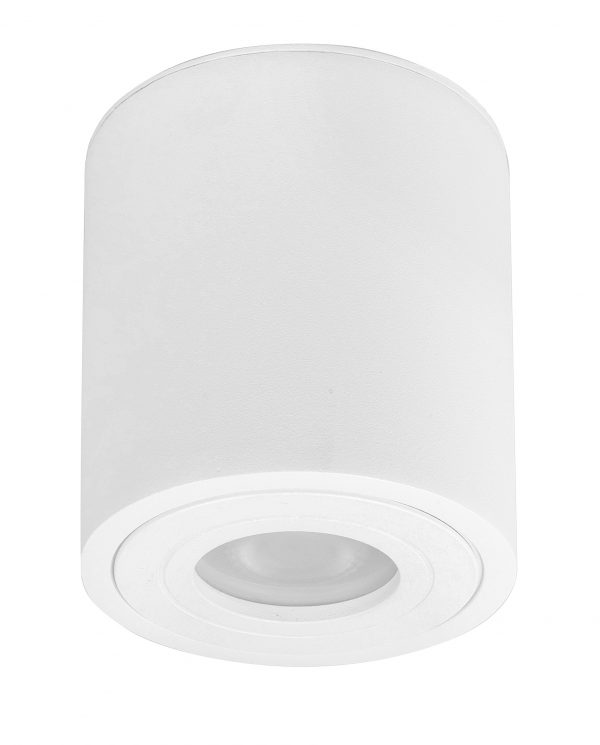 HighLight plafondlamp Maxi Rebel 1 lichts rond - wit