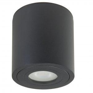 HighLight plafondlamp Maxi Rebel 1 lichts rond - zwart
