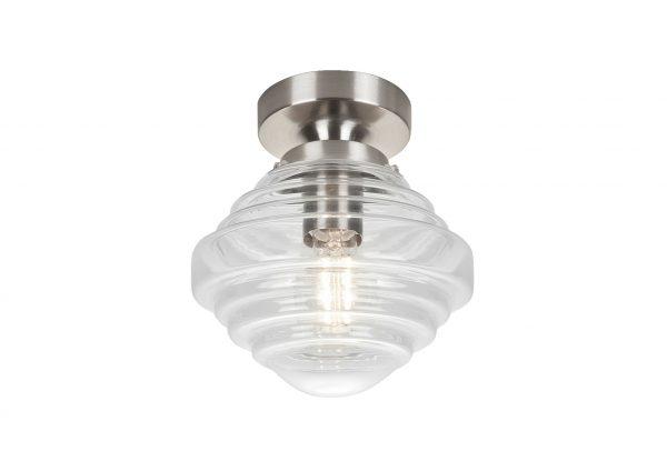 HighLight verlichtingspendel Artdeco - nikkel mat excl. glas