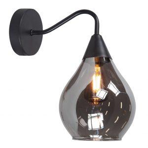 HighLight wandlamp Cambio - zwart / smoke