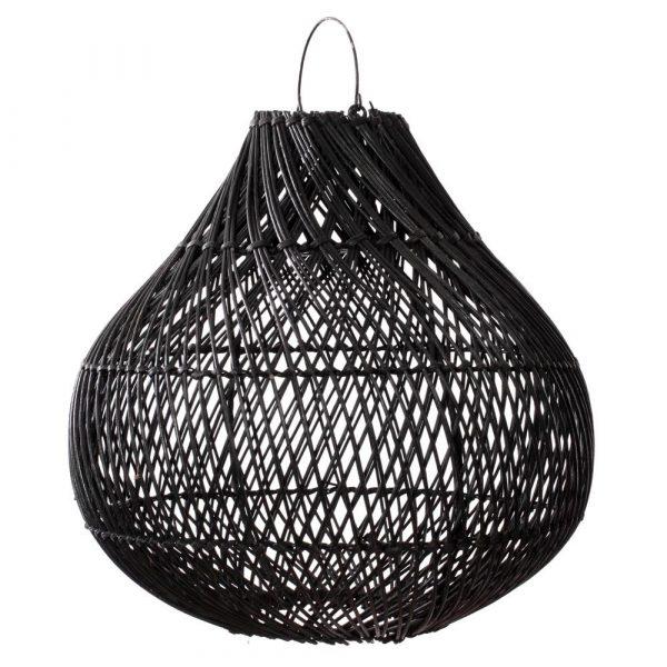 Bazar Bizar - The Bottle - hanglamp L - zwart
