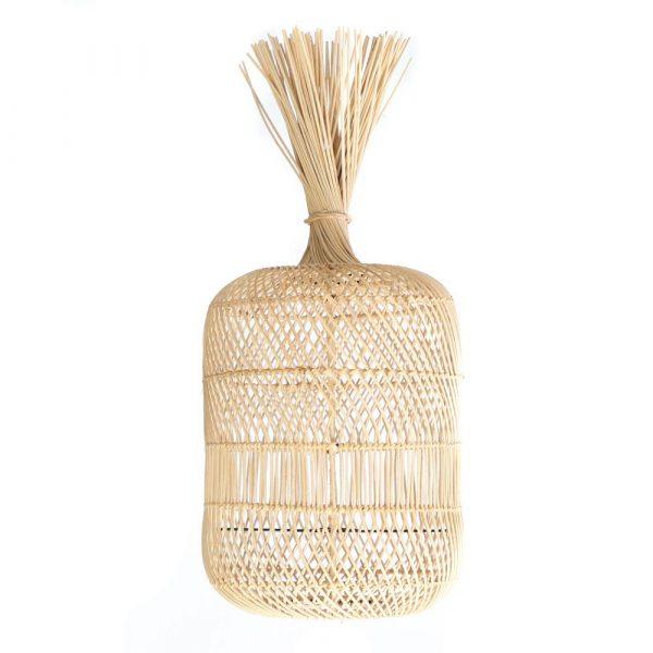 Bazar Bizar - The Dumpling - vloerlamp / hanglamp M - natuurlijk